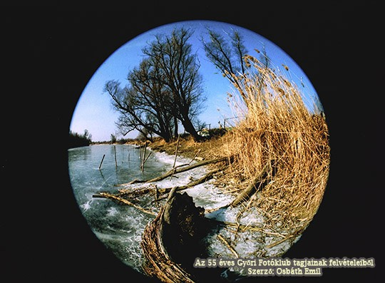 Osbáth Emil::Téli Holt-Duna ág