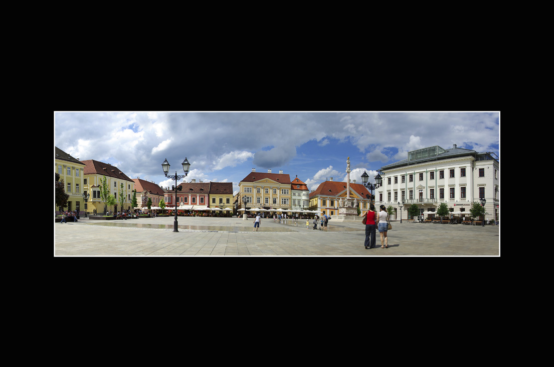 Babics László::Széchenyi-tér