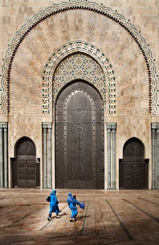 Bognár Róbert::II. Hasszán mecset főbejárata