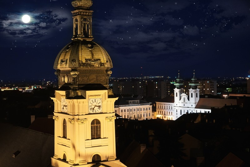 Hegedűs Péter::Győr@Night
