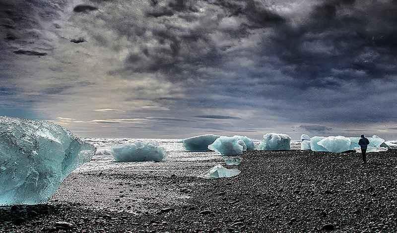 Stipsits Ibolya::Ice sea