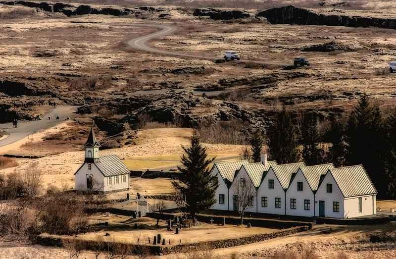 Stipsits Ibolya::Icelandic village