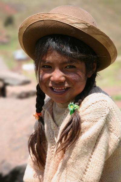Tóth Tibor::Kislány - Bolívia