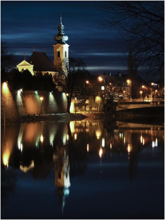 Vincze László::Győri hajnal